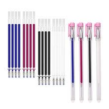 4 стирания ручки набор 20 шт стираемые заправки ткань маркер