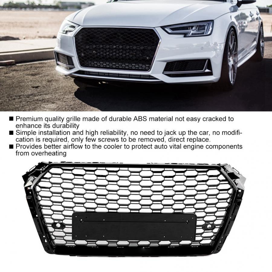 Modifica auto frontale Griglie paraurti anteriore Griglia  per Audi A4//S4 B8