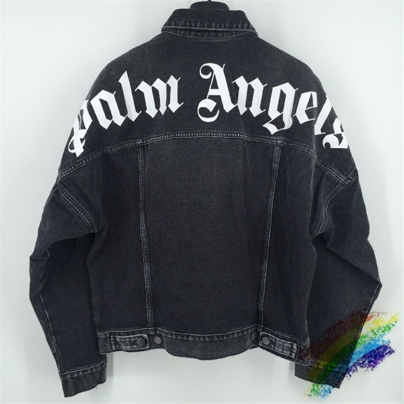 Denim Jacket Coats Palm-Angels-Jackets Outerwear 1:1 Men Women