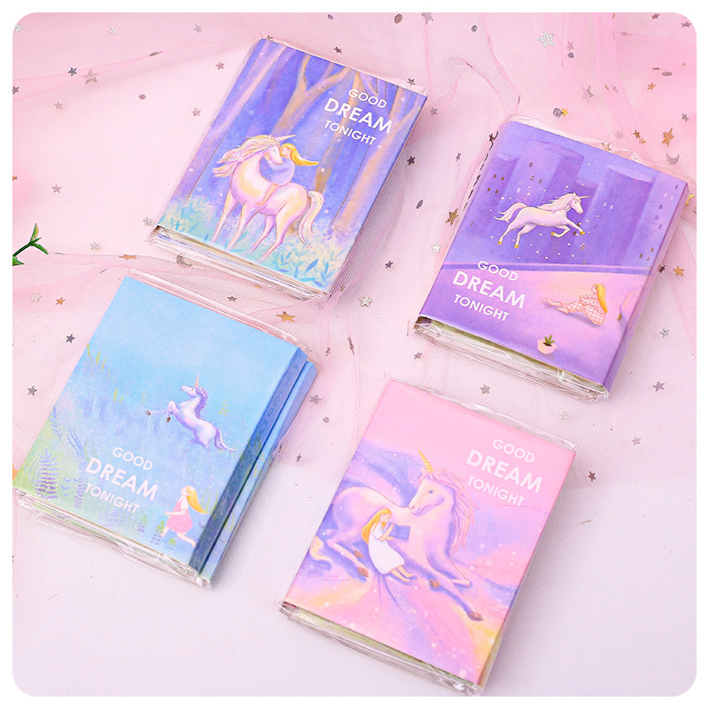 1set/lot Memo Pads Sticky Notes Horse Series Paper Diary Scrapbooking Stickers Office School Stationery Notepad
