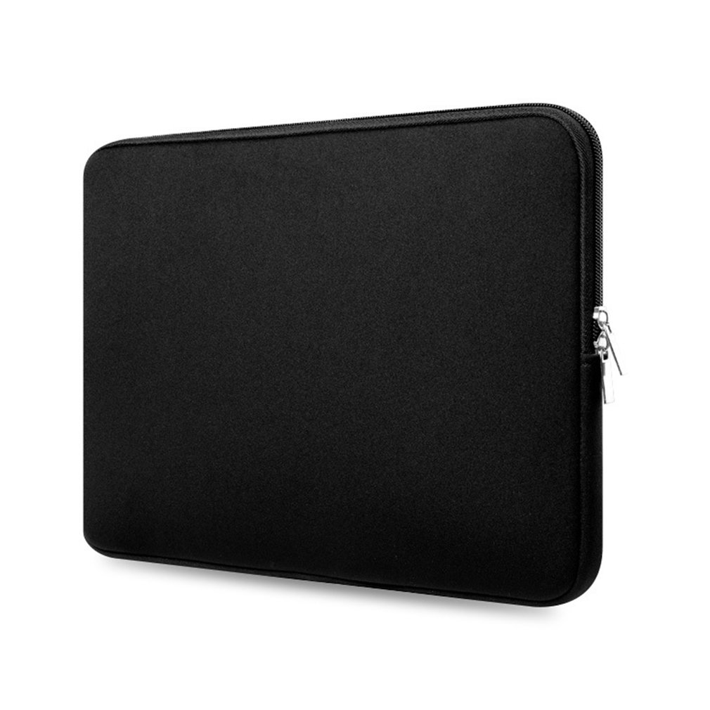 Notebook Bag 11/13/15 Inch Laptop Sleeve Case Tablet Cover For Macbook Air Zipper Nylon Solid  Unisex Fasion