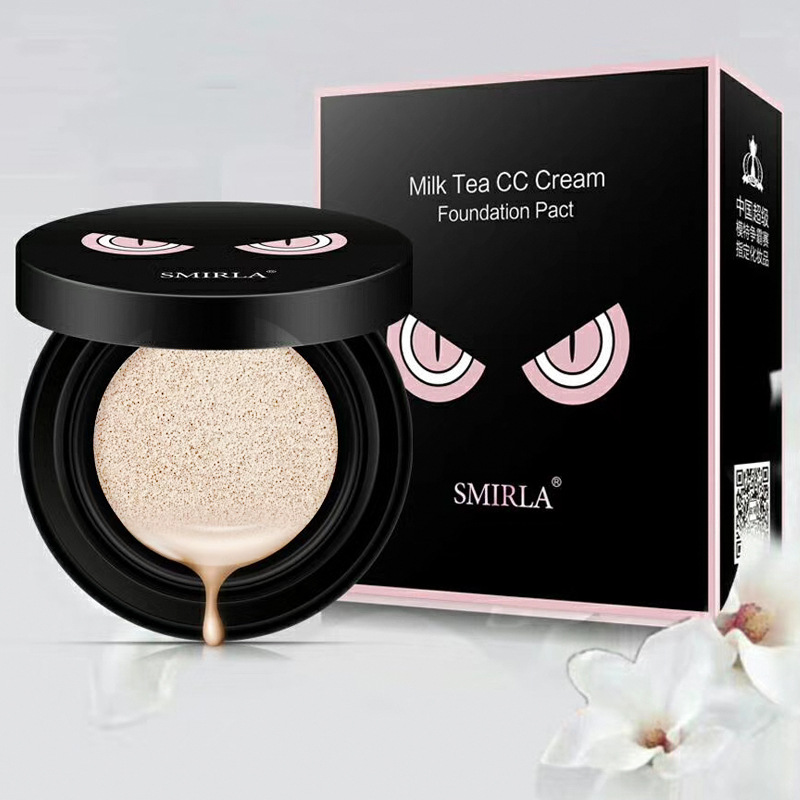 Isolation Air Cushion BB Cream Ivory White Makeup Air Cushion CC Cream Moisturizing Covering Blemish Bare Makeup Concealer
