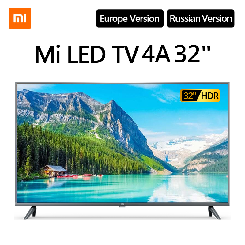 Xiaomi TV smart television 4A 32 inches 1.5G+8G storage support miracast Netflix DVB T2+C/S2 intellgent LED television|Smart TV| - AliExpress