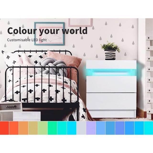 RGB LED Night Table Lighting Cabinet  2