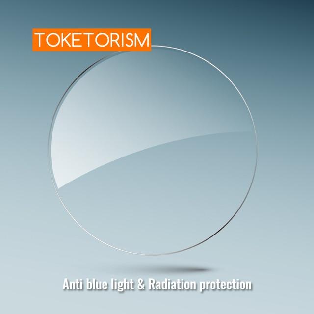Toketorism Anti blue light lenses Resin Aspheric Glasses Lens Prescription Computer glasses