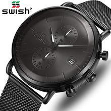 Часы мужские наручные с хронографом роскошные деловые брендовые