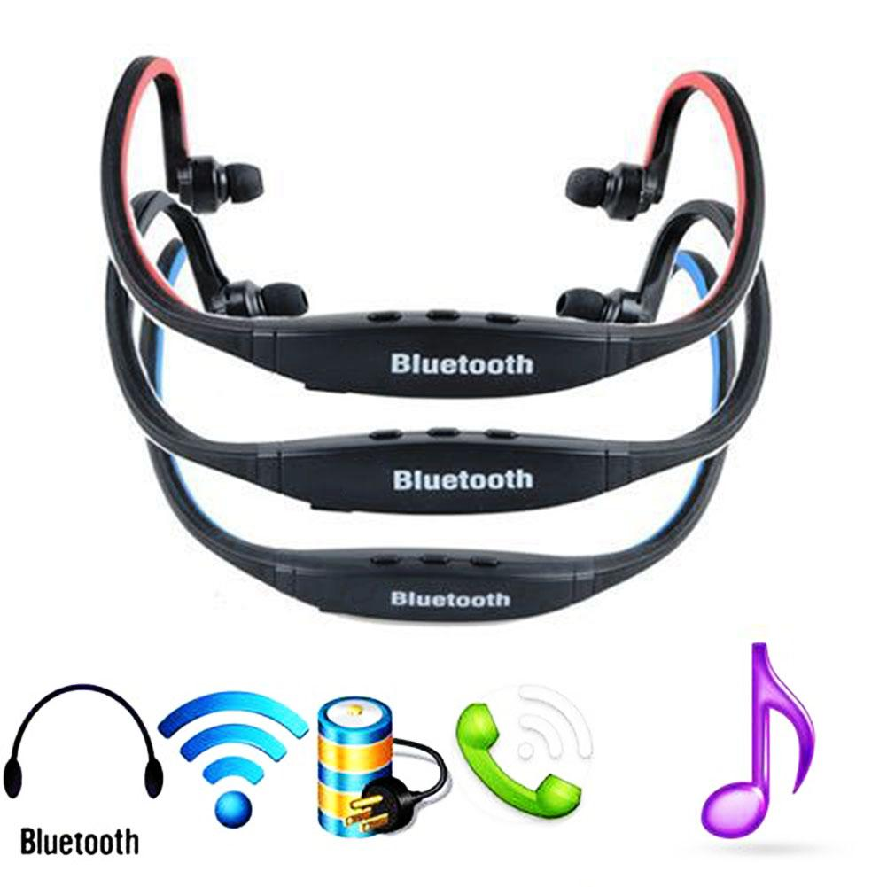 <font><b>S9</b></font> Wireless <font><b>Bluetooth</b></font> 4.1 Earphones Sport Earbuds Headset with Mic for iPhone Xiao mi Phone image