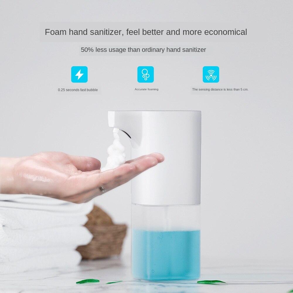H5acf95a4121c494aad0b31164653c331k Automatic Foam Soap Dispenser Infrared Sensing Foam Soap Dispenser Induction Liquid Soap Dispenser For Bathroom Kitchen Hotel