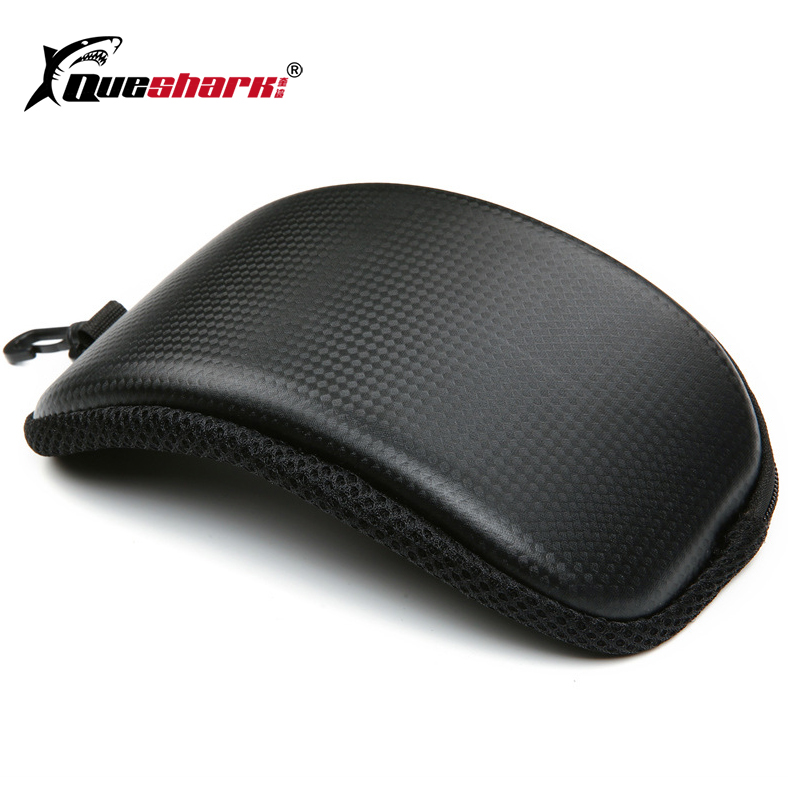 Portable Ski Snow Goggle Protector Case (Without Goggles) Skiing Snowboard Glasses Eyewear Box Zipper Hard Case Bag
