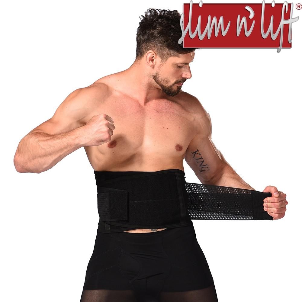 As Seen On TV Slim N Lift Hourglass Adjustable Slimming Belt For Man