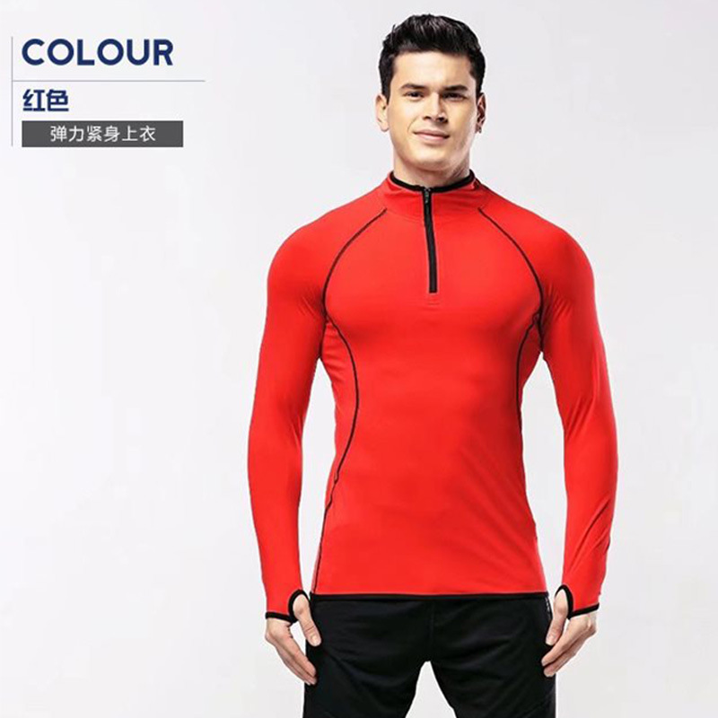 Autumn And Winter New Style Long Sleeve Football Training Suit Tops Sports Jersey Wicking Breathable Football Sweater