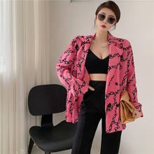 Big suit collar shirt thin coat sunscreen blouse new summer women's loose and thin pink cardigan