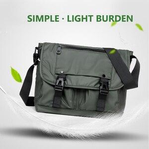 Image 4 - Mens Fashion Nylon Crossbody Bag Multifunctional Male Shoulder Messenger Bags Large Satchels Business Bolsa Masculina XA292ZC