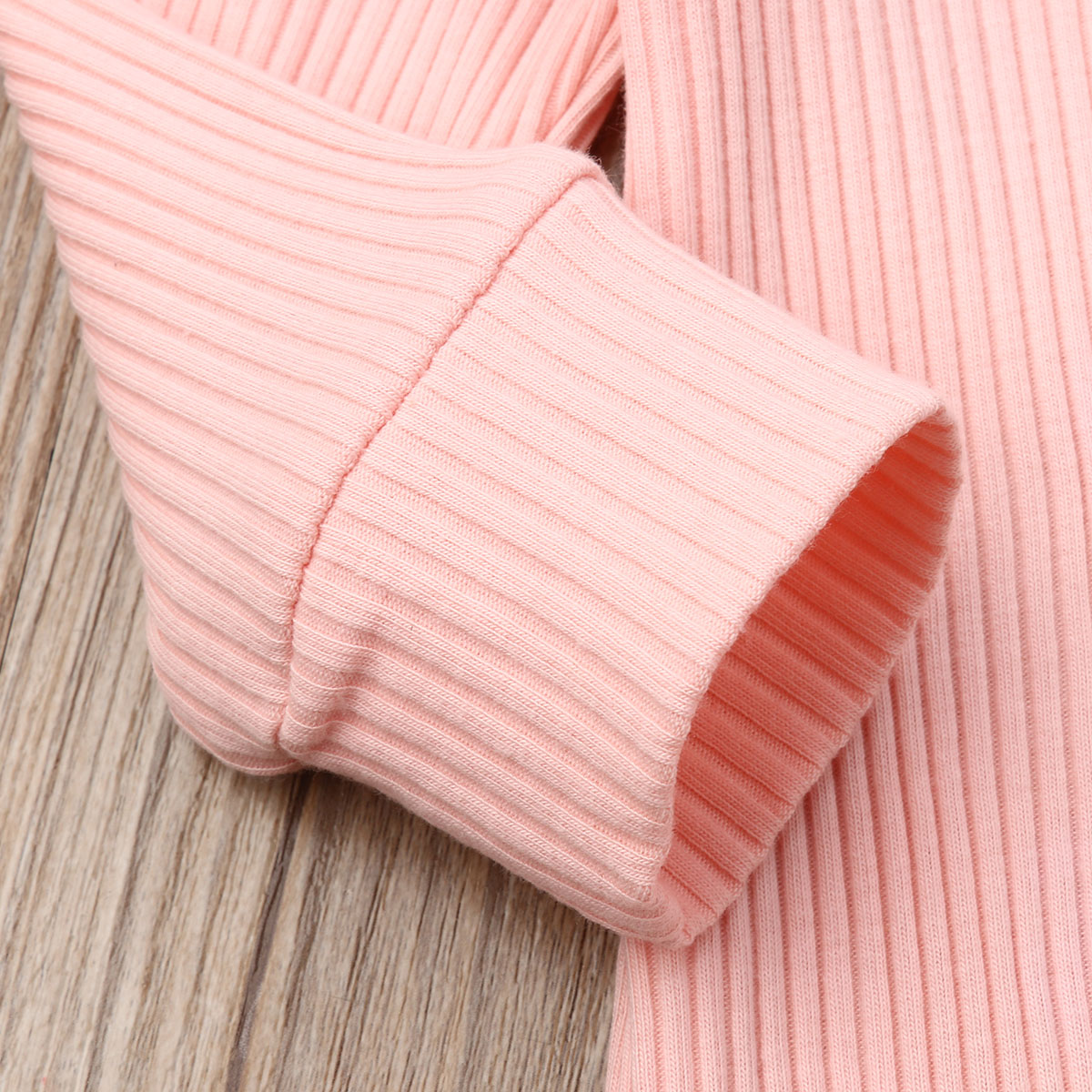 H5ad032d723fa46fb97640ec266e0247cd Spring Fall Newborn Baby Girl Boy Clothes Long Sleeve Knitted Romper + Headband Jumpsuit 2PCS Outfit 0-24M