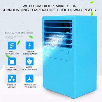 Портативный мини-вентилятор кондиционера персональный кулер пространства быстро легко охладить любое пространство домашний офисный Наст...