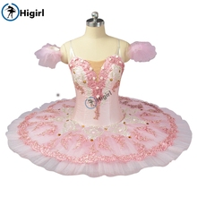 Sugar Plum Fairy Pancake Tutu Skirt  pink ballet tutu  performance adult girl  ballerina stage costumes BT9055 цена в Москве и Питере