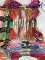 30 комплектов/партия, адаптируемые под требования заказчика нить-шелковая нить для вышивки, вышивка бархатистая обувь с шелковой полоской с ...