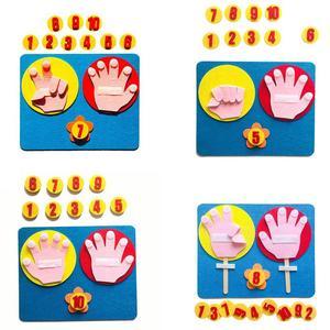 Montessori Mathematical Toy Te