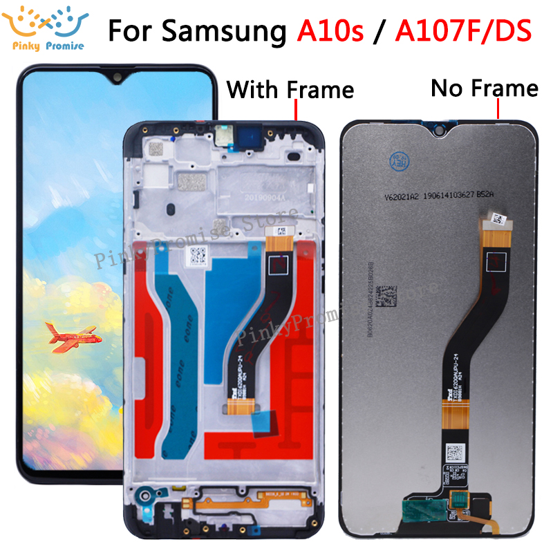 100% Tested 6.2 For Samsung Galaxy A10s lcd Digitizer A107F/DS 