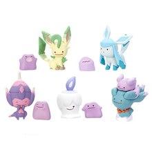 Desenhos animados linda metamoron poipole vol.7 gashapon pkm figura de ação brinquedos anime brinquedos crianças presente