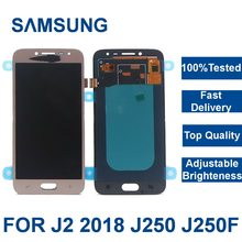 100%Tested LCD For Samsung Galaxy J2 pro 2018 J250 J250F J250H Display Touch Screen Digitizer Assembly with Adjust Brightness(China)