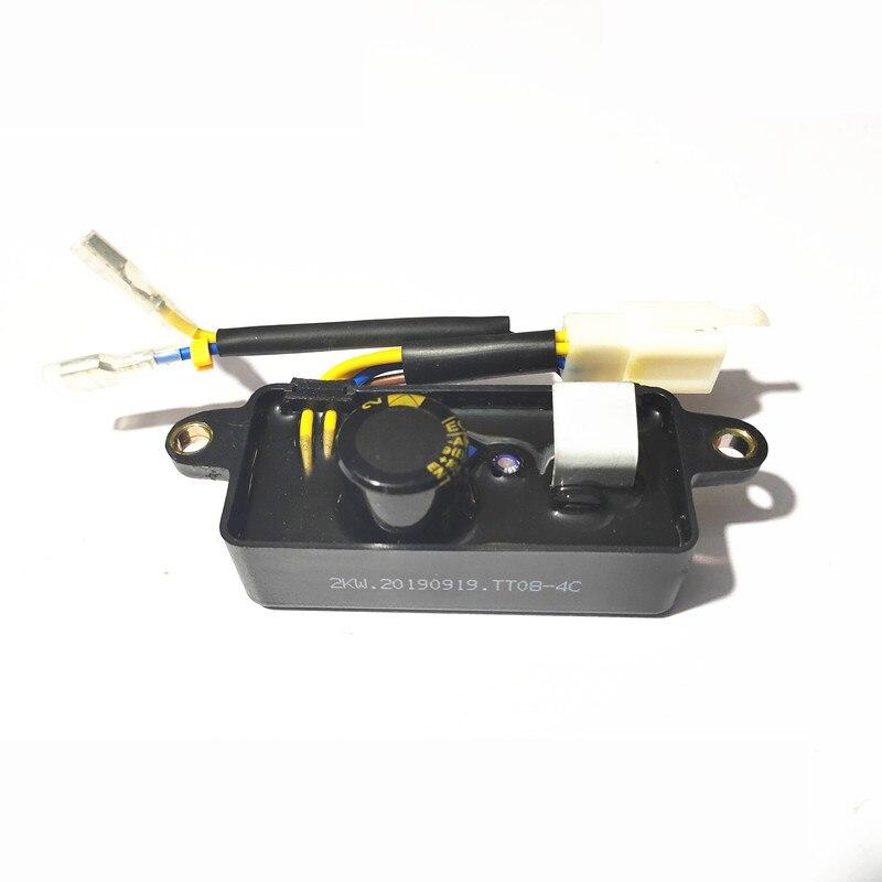 retificador automatico do regulador de tensao de lihua avr para o quadrado preto 2kva 2 5kva