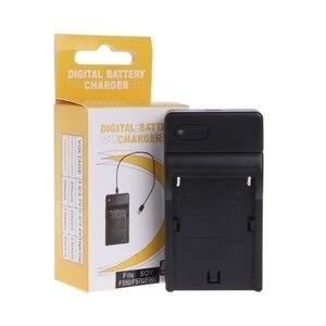 Image 3 - Usb Batterij Lader Voor Sony NP F550 F570 F770 F960 F970 FM50 F330 F930 Camera
