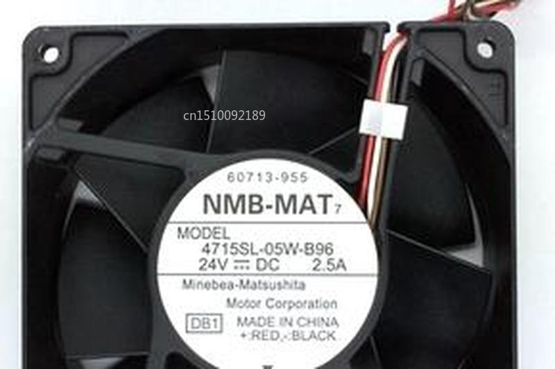 For NMB-MAT 4715SL-05W-B96 24V 2.5A 12038 Violent Inverter Cooling Fan Free Shipping