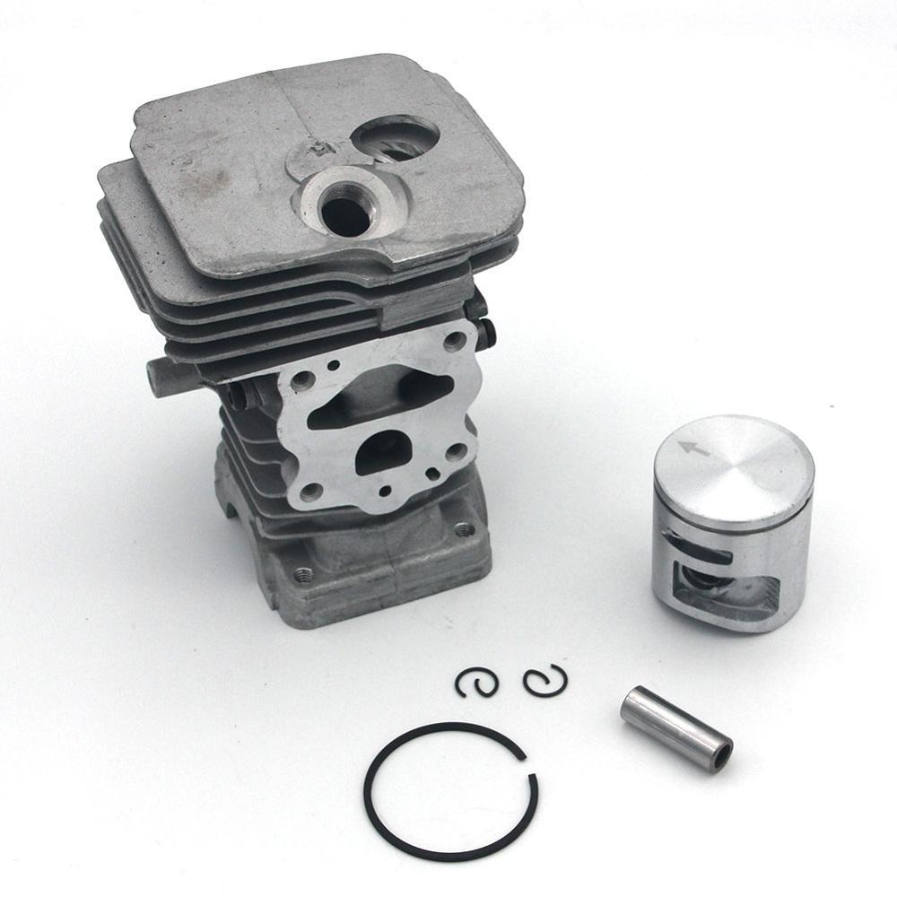 42mm Cylinder Piston Kit For Husqvarna 445 445E Jonsered CS2245 CS2245S Chainsaw PN 544119902