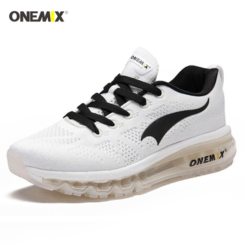 Onemix New Men's Trainers Air Cushion Running Shoes Ultra Light Shock Absorber Road Men Sports Shoes Outdoor Mesh Jogging Shoes onemix 2017 new men s sports running shoes for men shock absorption mesh lightweight design comfortable air cushion shoes 1191
