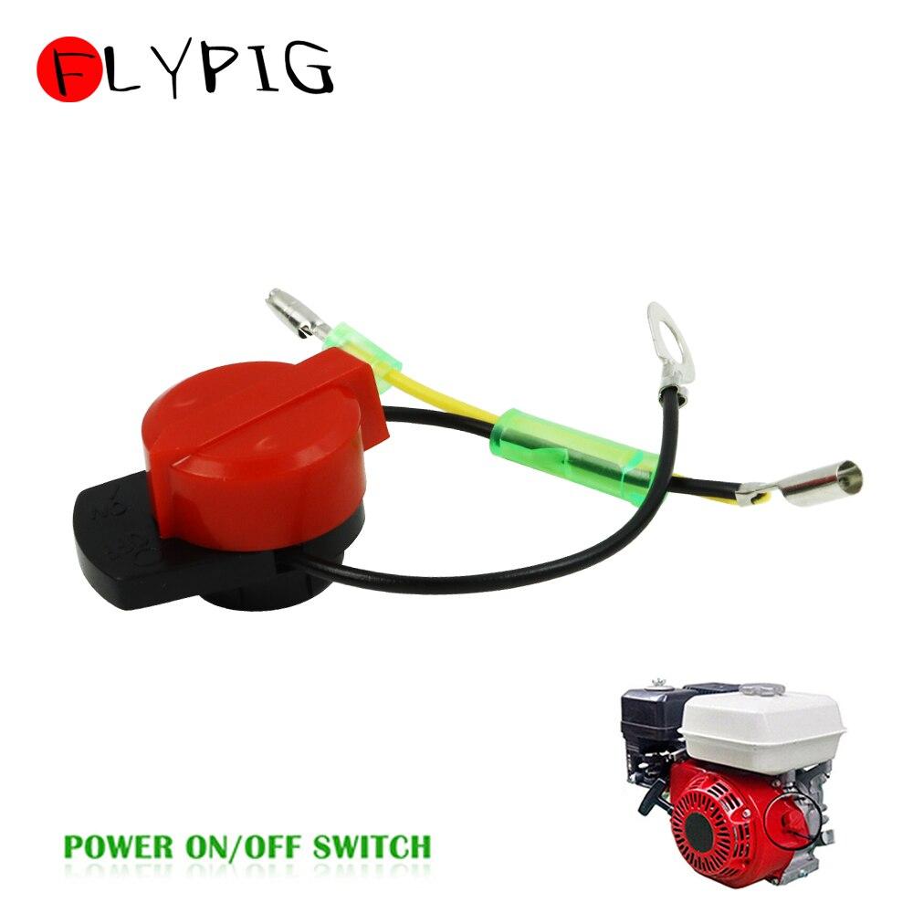 2 Wire Engine Power Stop On Off Kill Switch Control For Honda GX100 GX120 GX160 GX200 GX240 GX340 GX390 35120-Z0T-831