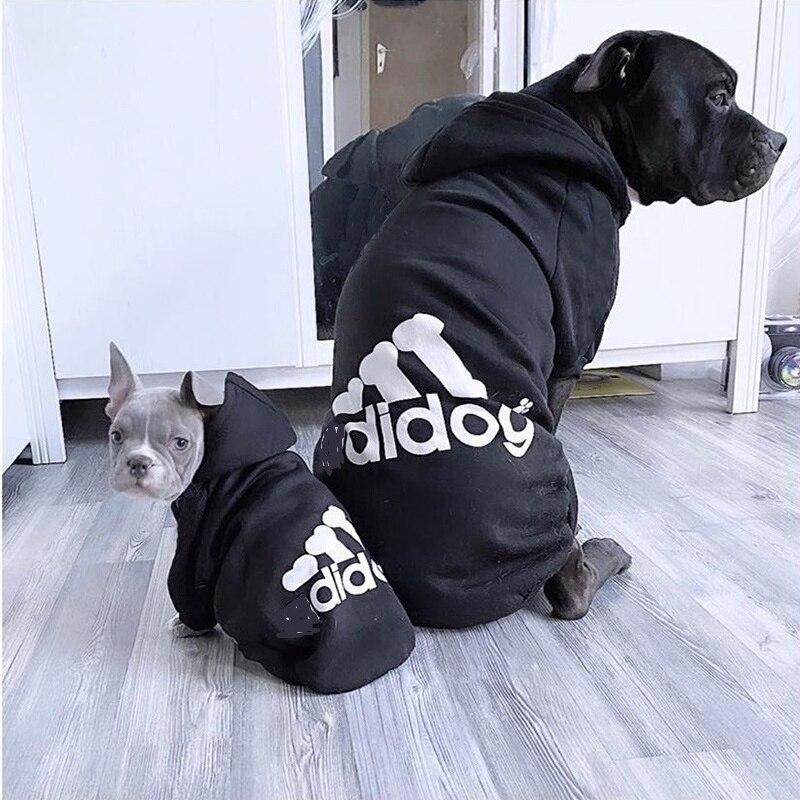 Товары для домашних животных, одежда для собак, пальто, куртка, толстовка, свитер, одежда для собак, хлопковая одежда для собак, спортивный стиль, одежда для собак-1
