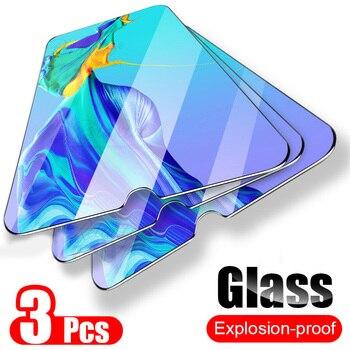 Перейти на Алиэкспресс и купить 3 шт 9H закаленное стекло для huawei P30 P20 pro mate 20 lite на экран протектор p 30 p30lite p20lite Защитная пленка для дисплея