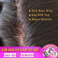 Silk Base Wig Silk Top Human Hair Wigs Lace Front Human Hair Wigs body wave Lace Front Wig For Black Women Pre Plucked Baby Hair