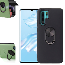 For Huawei P30 Lite Case Magnetic Car Ring Holder Cover Pc TPU Phone On p20 P 30 mate 20 Pro full cover