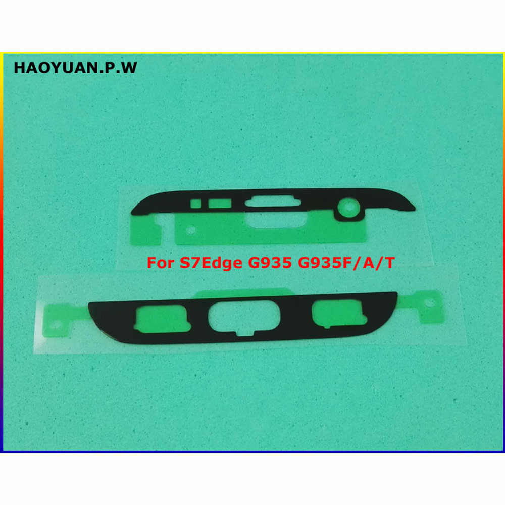 חדש מקורי מדבקה קדמי LCD מסגרת פנל דבק לסמסונג S2 S3 S4 S5 מיני S6 S7 קצה S8 S9 s10 הערה 8 9 10 בתוספת קלטת דבק