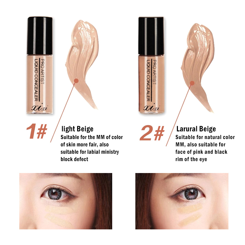 Liquid Concealer Dark Circle Acne Fine Lines Full Cover Makeup Face Eyes Make Up Base Cosmetic Foundation Concealer Cream TSLM2
