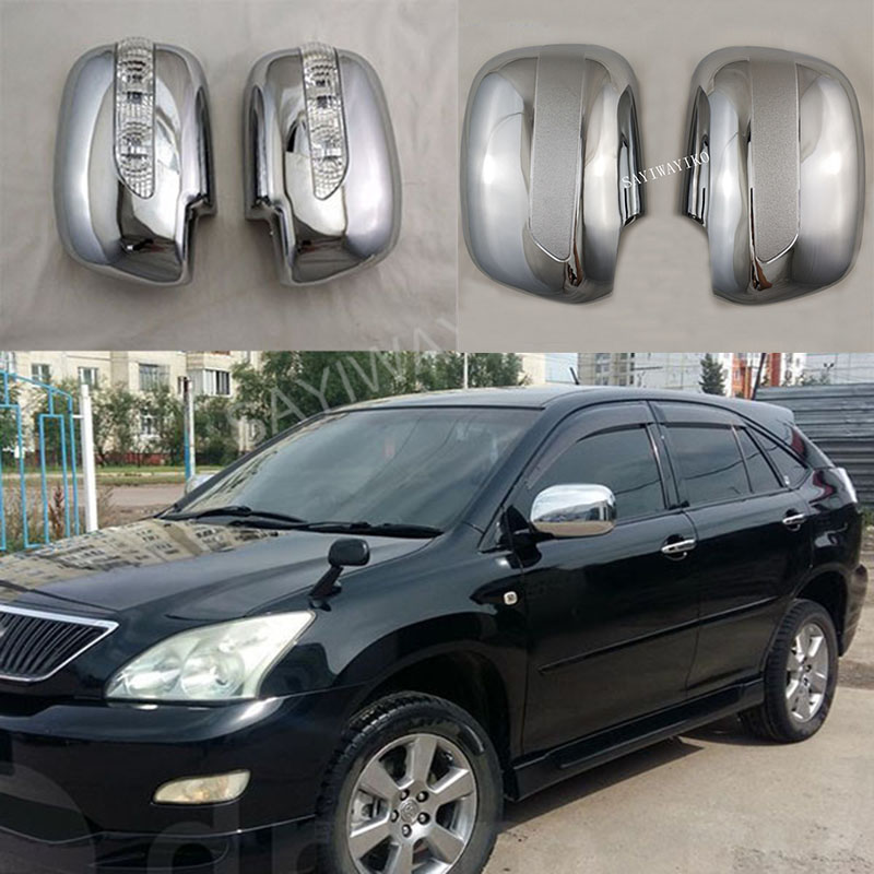 ABS Chrome For <font><b>Lexus</b></font> RX330 RX300 RX350 <font><b>RX450h</b></font> 2003-2008 Rearview mirror cover car accessories car protection car styling image