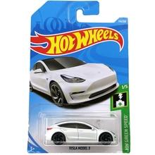 Sıcak tekerlekler 1:64 araba TESLA modeli 3 S X toplayıcı Edition Metal Diecast MODEL arabalar çocuk oyuncakları hediye