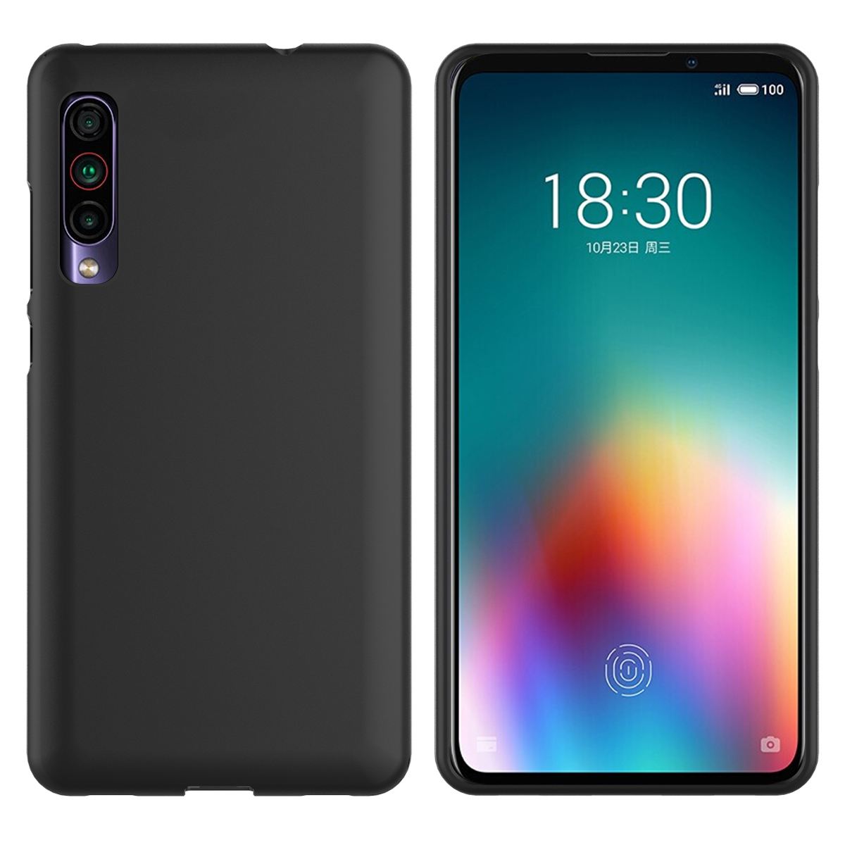 For <font><b>Meizu</b></font> 16T Case Silicon Slim Fit Soft TPU Bumper <font><b>360</b></font> Degree Protective Back Cover For <font><b>Meizu</b></font> <font><b>16</b></font> T 16T Case Shockproof Armor image