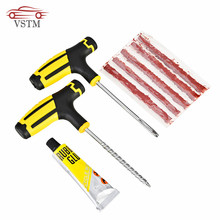Car Tire Repair Kit Auto Bike Car Tire Tyre Cement Tool Puncture Plug Practical Hand Tools for Car Accessories(China)