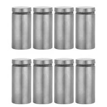 4pcs Stainless Steel Advertise Fixing Pins Glass Standoff Mounting Bolts 25*50/60mm Bolt Scratch And Corrosion
