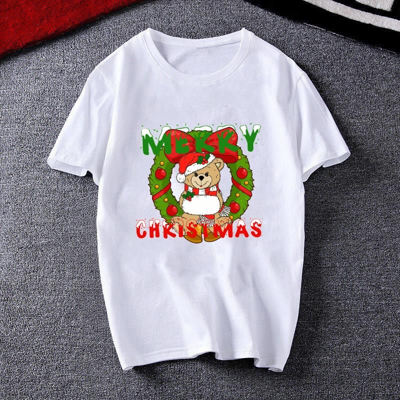 Купить женская мода 2020 одежда с веселым рождественским крутым принтом