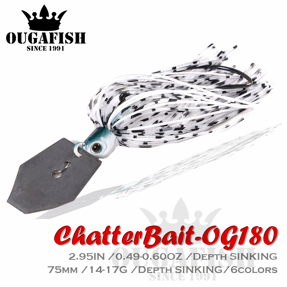 2020 Chatterbait Fishing Lures Weights14-17g Fishing Tackle Spinnerbait Fishing Accessories Isca Artificial Buzz Fish Bait Pesca-0