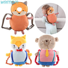 Pillow Headrest Protective-Cushion Crash-Cap Baby Animal Toddlers Children Cute New Bear