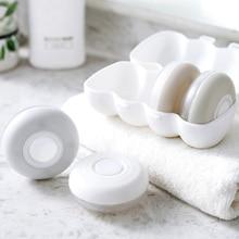 4Pcs/Set Portable Travel Refillable Bottle Shampoo Shower Gel Lotion Storage Box Cosmetic Empty Mini Plastic Containers