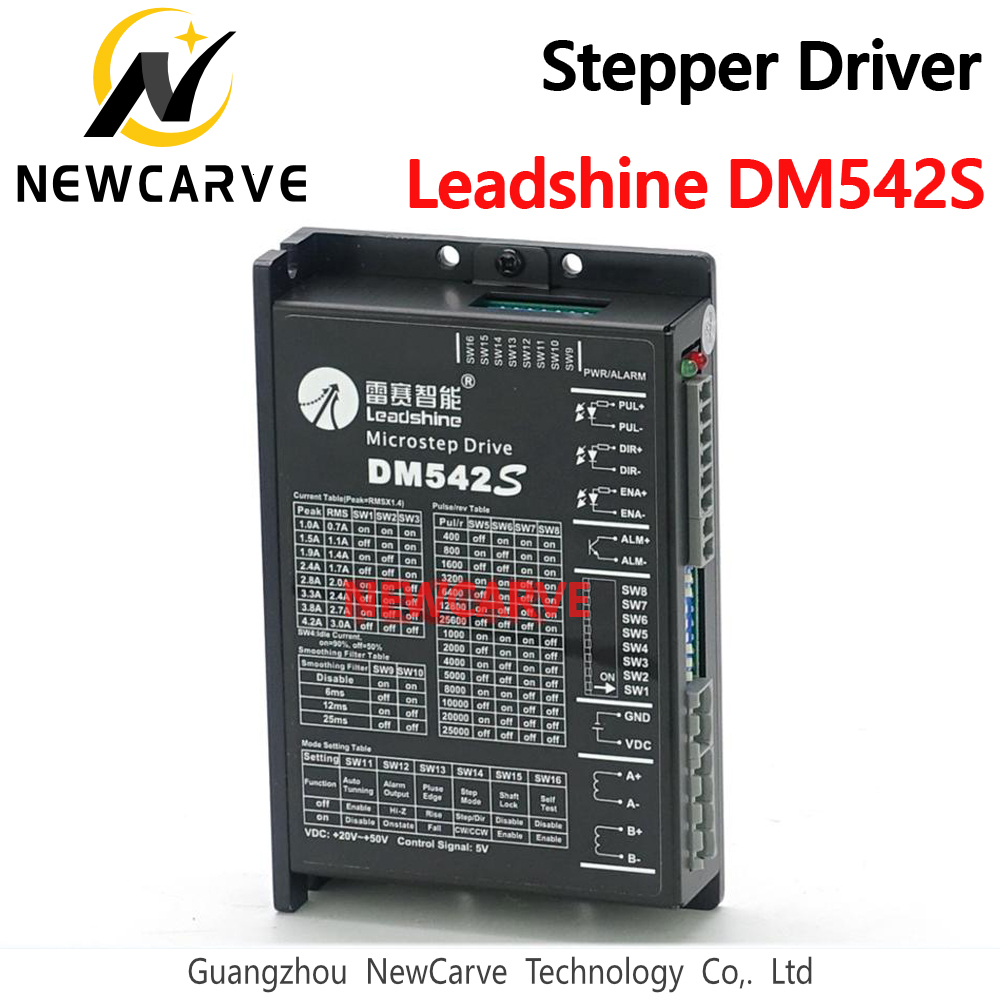 <font><b>DM542S</b></font> Leadshine New 2PH 4.2A DC Driver For NEMA23 NEMA17 57mm 42mm Hybrid Stepper Motor replace DM542 M542 M542C NEWCARVE image