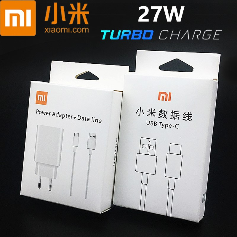 Original Xiaomi Fast <font><b>Charger</b></font> QC 4.0 Turbo Charge adapter for <font><b>mi</b></font> 9 9t pro max 3 a3 note 10 redmi note 7 8 pro k20 pro /usb type c image