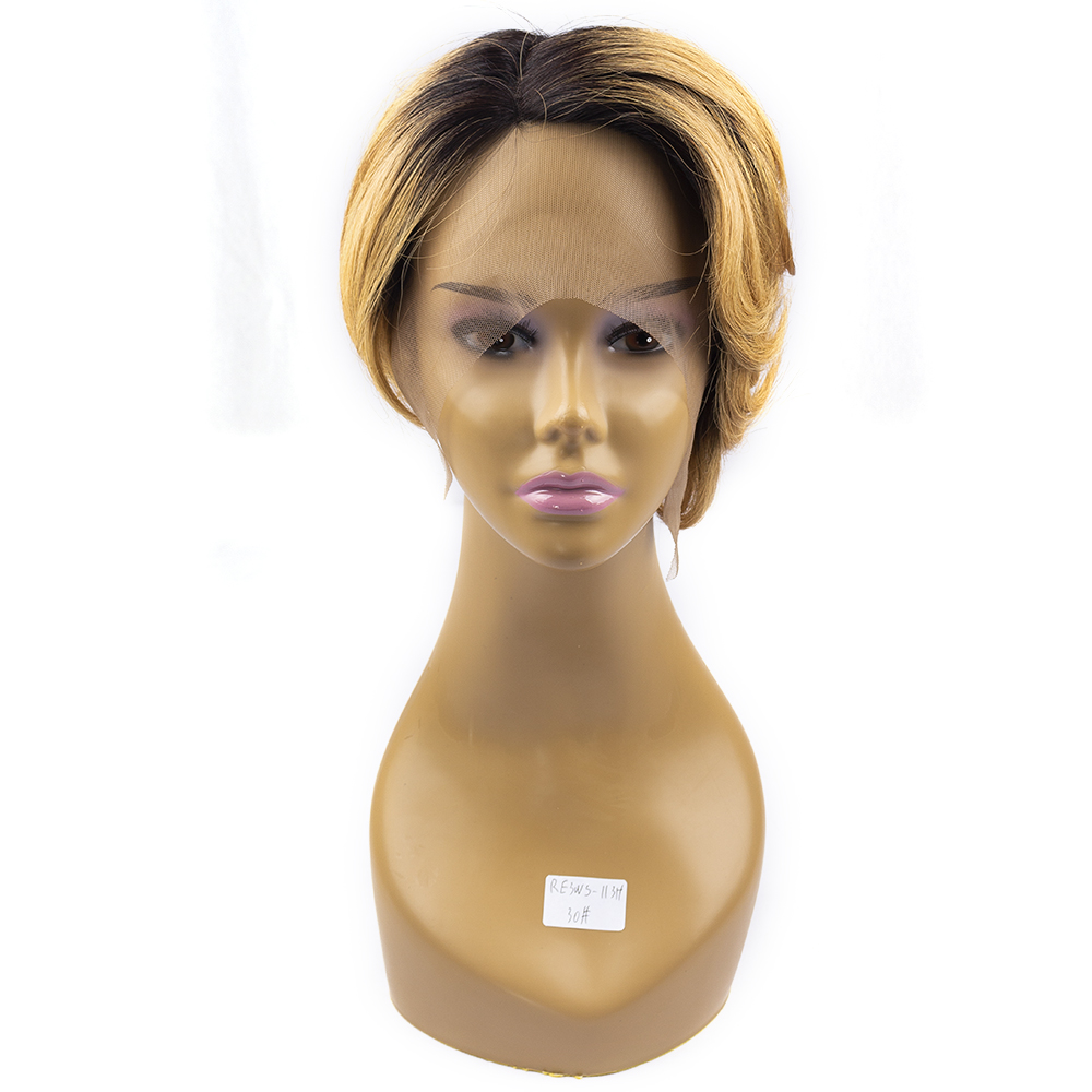 Short Pixie Wig Human Hair Pixie Cut Wig Short Wavy Hair Bob Hair Wigs Lace Front Wig Lace Front Human Hair Wig