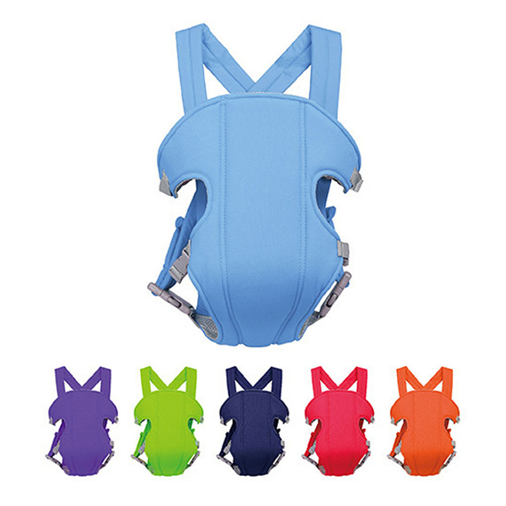 Ergonomic Kids Sling Backpack Pouch Wrap 3-16 Months Baby Carrier Front Facing Multifunctional Infant Kangaroo Bag